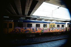 Cape Town Cbd Station (bariusmester) Tags: 35mm cape town south africa graffiti street art streetphotography