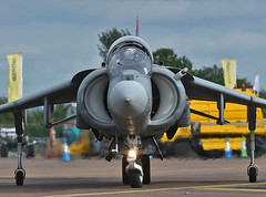 Head on Harrier (np1991) Tags: royal international air tattoo riat 2019 airshow fairford raf england united kingdom uk nikon digital slr dslr d7200 camera nikor 70200mm vibration reduction vr f28 lens aviation planes aircraft spain spanish navy eav8b av8 matador harrier ii armada