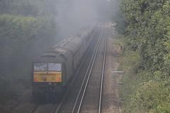 47802 with 1Z61 at Bursledon 15/8/19 (Ewan's rail pics) Tags: wcrc westcoastrailwaycompany class47 47802 1z61 thecathedralsexpress railtour 61306 mayflower bursledon