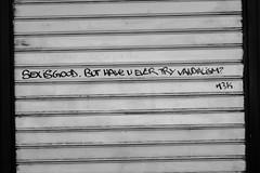 DSCF2830 (LexomIA) Tags: bordeaux street streetart urbain bw nb streetphotography