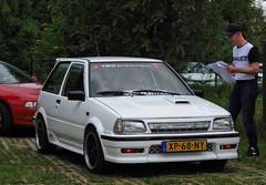 1989 Toyota Starlet 1.3 XL Turbo (rvandermaar) Tags: 1989 toyota starlet 13 xl turbo toyotastarlet sidecode4 xp68ny