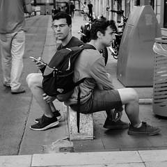 DSCF2822 (LexomIA) Tags: bordeaux street urbain bw nb streetphotography