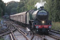 61306 with 1Z64 at Fareham 15/8/19 (Ewan's rail pics) Tags: 61306 mayflower steamtrain 1z64 thecathedralsexpress railtour fareham wcrc westcoastrailwaycompany 47802
