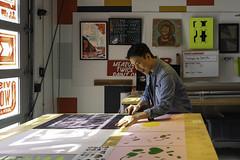 Q (scottboms) Tags: analogresearchlab arl facebook menlopark california studio designerinresidence fbdir printmaking computationaldesign processing