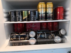 The Essentials (Richard Amor Allan) Tags: wales fridge cider beer cans alcohol