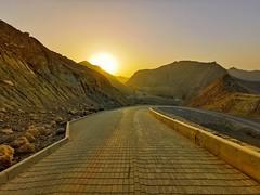 On the way to Wadi Kabir viewpoint. (ReclusiveBlue) Tags: p30pro huawei oman muscat wadikabir