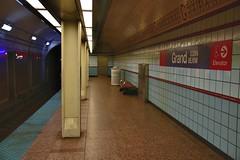 Grand Station (Red Line) (jpellgen (@1179_jp)) Tags: chi chicago chitown midwest usa america il illinois nikon sigma 1770mm 2019 summer travel d7200 roadtrip cta redline subway train station rail grandstation