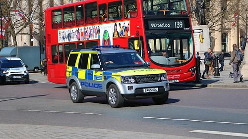 Metropolitan Police Service - Land Rover Discovery 4 - Explosive Ordinance Disposal Team - BX65DOJ