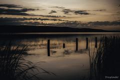 Balaton, Keszthely 04 (gergely.t.springer) Tags: hungary magyarország keszthely balaton lake sunrise water nature nikon d3500 morning shipyard orange clouds