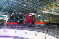 Around the turntable (daveymills37886) Tags: national railway museum nrm class 20 d8000 20050 kf china railways no 607 lnwr emu coach 28249 br mbto metropolitan cammell