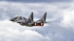 MiG-29GT (kamil_olszowy) Tags: mig29gt fulcrum polish air force siły powietrzne rp 4110 mirosławiec epmi 22stafb jet fighter изделие 951 миг29гт ввс польши