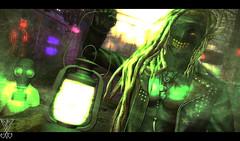 [ F i r e  f l i e s ] (Ranmyaku Haiku) Tags: bray wyatt the fiend wwe wrestling secondlife demon devil lantern fireflies evil