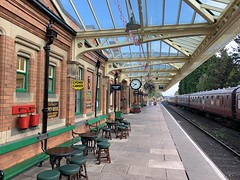 Loughborough Central, Great Central Railway (Kris Davies (megara_rp)) Tags: loughborough leicestershire grand central preserved train railway