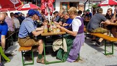 Gastgarten (John Steam) Tags: oldtimertreffen christlalm trattberg sankt koloman salzburg austria 2019 gastgarten