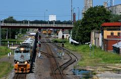 Rio Grande... Eastern? (Jeff Carlson_82) Tags: up uprr 1989 emd sd70ace heritage mnpinp topeka ks kansas kansassub sjjct drgw riogrande train railroad railfan railway
