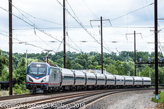 DSCF2388, Aberdeen, MD, 6-21-2019 (Rkap10) Tags: 2019withdaleforwilmingtonchapter asc64 albums amtrak locomotives maryland other places railroad