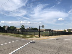 2019 - school football field fence