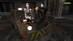 look into the future (Enewa Eleonorah) Tags: gothic goth model virtual secondlife sl avatar mesh bento nunox