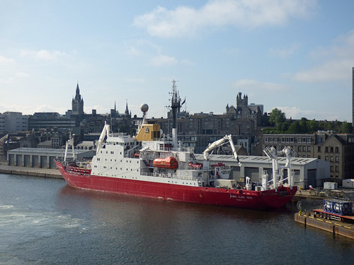 MV James Clark Ross in Aberdeen