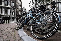 Amsterdam Bikes (De Hollena) Tags: amsterdam bicycle fahrrad fiets holland lespaysbas nederland niederlande noordholland nordholland rijwiel thenetherlands velo vélo bicyclette vélocipède