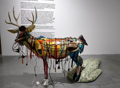 """""""Passing Buck (for Bob Rauschenberg),"""" Sculpture by Ken Little, Kaneko"""