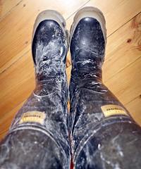 Bullseye Hood (essex_mud_explorer) Tags: bullseyehood waders thighwaders hip thigh rubber boots cuissardes watstiefel gummistiefel rubberlaarzen rubberboots mud muddy dirty