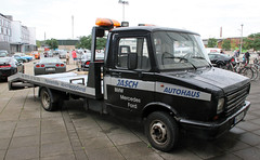 DAF car transporter (Schwanzus_Longus) Tags: bremen german germany dutch holland netherland vehicle truck lorry car transporter tow flatbed platform daf 400