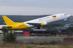 Photo of West Atlantic, Boeing 737-406(SF), G-JMCX.