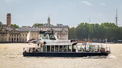 Cruising by Greenwich (godrick) Tags: greenwich unitedkingdom london riverthames england olympianway europe gb goldenstar pleasureboat routing cruising capitalpleasureboats