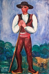 Peasant (1930) - Sarah Affonso (1899-1983)