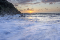 The Wild West (dannie843) Tags: wales ceredigion leefilters sea sunset