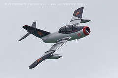 0851 MiG 15 (photozone72) Tags: eastbourne aircraft airshows airshow aviation canon canon7dmk2 canon100400f4556lii 7dmk2 t33 t33shootingstar mig mig15