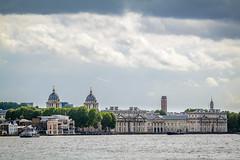 Old Royal Naval College, Greenwich (godrick) Tags: greenwich unitedkingdom london riverthames england olympianway europe gb oldroyalnavalcollege