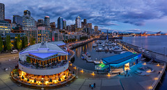 Pier 66 Blue Hour 8.2.18 (pablo.guzman333) Tags: pier 66 seattle blue hour