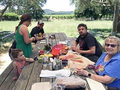 Father's Day in Alexander Valley - 2019 (tonopah06) Tags: california ca family friends iphone 2019 ariel alex luca bryan loretta ezra fathersday healdsburg alexandervalley