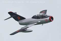 0853 MiG 15 (photozone72) Tags: eastbourne aircraft airshows airshow aviation canon canon7dmk2 canon100400f4556lii 7dmk2 t33 t33shootingstar mig mig15