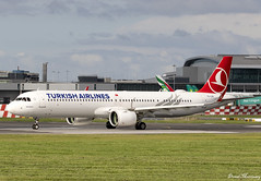 Turkish Airlines A321-200N  TC-LSC (birrlad) Tags: dublin dub international airport ireland aircraft aviation airplane airplanes airline airliner airlines airways takeoff departure departing runway airbus a321 a21n a321200n a321271nx tclsc turkish neo