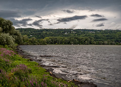 Getting All Churned Up (LJS74) Tags: ithaca thunderstorm cayugalake lake newyorkstate fingerlakes landscape nature clouds storm weather