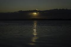 Anglesey Sunset (Graham Hanson) Tags: anglesey wales caernarfon coast gwynedd lynn peninsular low sun sunset sea water reflection seascape