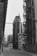 Narrow Street (valentinsolino) Tags: minolta xd11 rokkor 50mm17 trix400 rodinal150