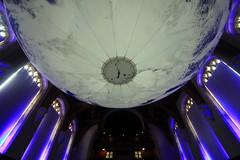 Luke Jerram's Gaia (Benn Gunn Baker) Tags: luke jerram's gaia wills memorial library bristol university nasa imagery earth artwork benn gunn baker canon 550d t2i south pole