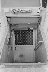 Sub gate (valentinsolino) Tags: minolta xd11 rokkor 50mm17 trix400 rodinal150