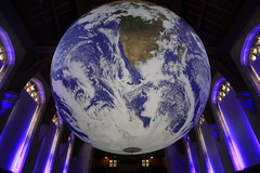 Luke Jerram's Gaia (Benn Gunn Baker) Tags: luke jerram's gaia wills memorial library bristol university nasa imagery earth artwork benn gunn baker canon 550d t2i
