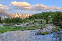 Banff 59 (Matt Caruana) Tags: banff alberta mountains nature landscape earth water clouds sunset fuji