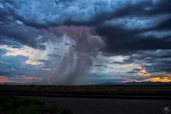 Omega Six (Steven Maguire Photography) Tags: lightning landscape southwest skyscape cochisecounty clouds monsoon arizona sunset thunderstorm