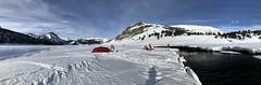 Campamento Valle Pulul (Mono Andes) Tags: campamento chile regióndelaaraucanía chilecentral andes skitour ski randonné panorama valledepulul pulul invierno