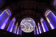 Luke Jerram's Gaia (Benn Gunn Baker) Tags: luke jerram's gaia wills memorial library bristol university nasa imagery earth artwork benn gunn baker canon 550d t2i
