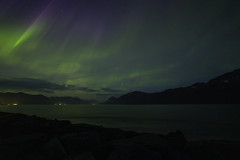 Turnagain Arm Aurora (dickpicnic) Tags: northernlights aurora alaska