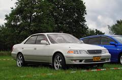 1996 Toyota Mark II Grande Hardtop 2.5 (rvandermaar) Tags: 1996 toyota mark ii toyotamarkii markii sidecode9 xz463p grande 25 x80