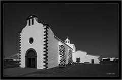 Lanzarote, Ermita de los Dolores, Mancha Blanca,  Infrared (Dierk Topp) Tags: a7r bw ilce7r ir sony1635mmvariotessartfef4zaoss architecture canaryislands churches infrared islascanarias lanzarote monochrom sw sony